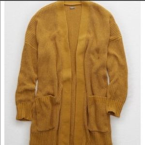 NWT Aerie oversized chenille cardigan